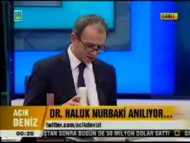 Haluk Nurbaki Ülke Tv'de Anıldı